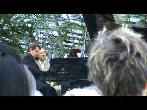 Marie Josephe Jude and Michel Beroff playing Debussy