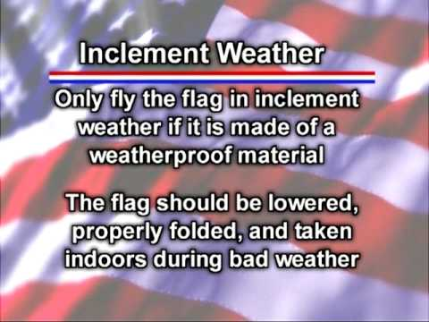 8 things to know for displaying the American flag