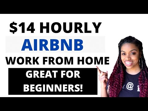 Make $14 Hourly Income With Airbnb I Beginner Friendly Work From Home Jobs Now Hiring 2020