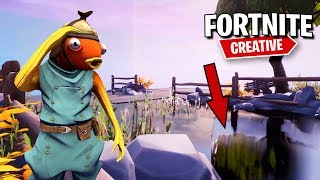 How to create REALISTIC WATER in Fortnite Creative