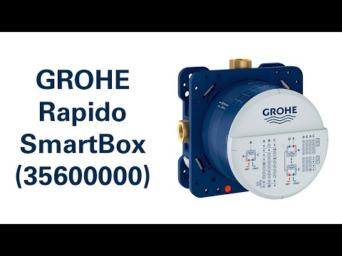 Універсальна вбудована частина GROHE Rapido SmartBox (35600000)