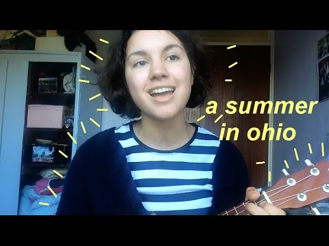 a summer in ohio - the last 5 years ukulele cover + chords