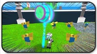 Roblox Ban Hammer Simulator Rebirth Hammers - The Dance-Inator! Making Noobs Dance