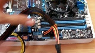 Connecting SMPS installing RAM / SSD on your motherboard
