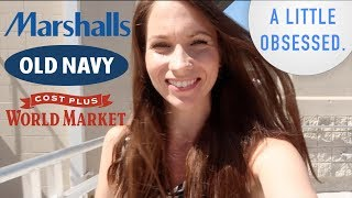 Shop With Me at Old Navy, Marshalls, & World Market!  New Spring Stuff + MORE!!! You know how I roll