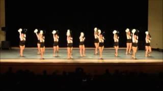 UW-Oshkosh Dance Team Pom 2012-2013