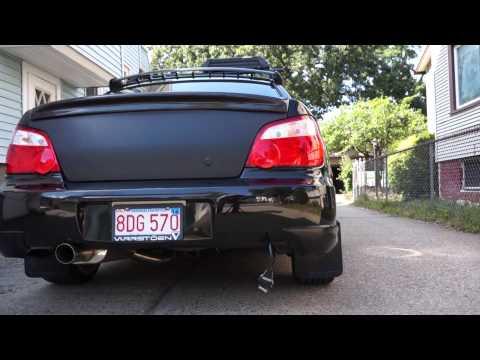 2004 Subaru WRX Limited Java Black Pearl
