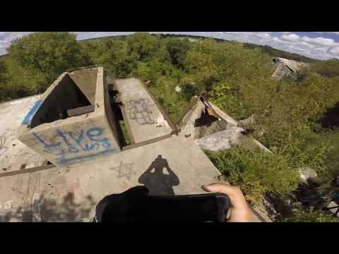 """Exploring an Abandoned Cement Factory """"Into the Tunnels"""""""