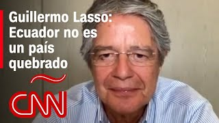 Lasso dice cuáles líderes están invitados a su posesión, leyes por derogar y sus planes para Ecuador