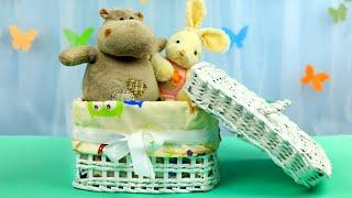 видео Коробка для игрушек своими руками