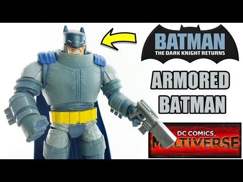 Review Armored Batman - DC Comics Multiverse - Cavaleiro das Trevas - brinquedo boneco em portugues