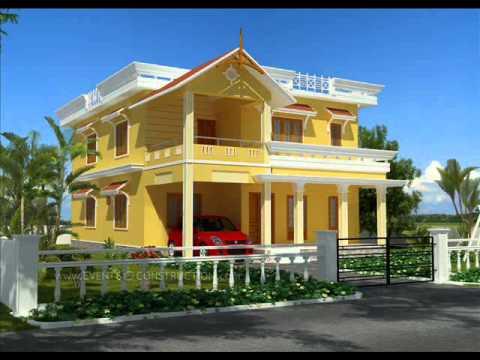Kerala traditional modern houses