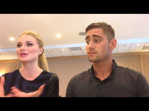 Emma Rigby and Michael Socha for Once Upon A Time In Wonderland at SDCC 2013!