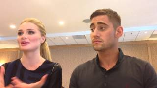 Emma Rigby and Michael Socha for Once Upon A Time In Wonderland at SDCC 2013! Thumbnail