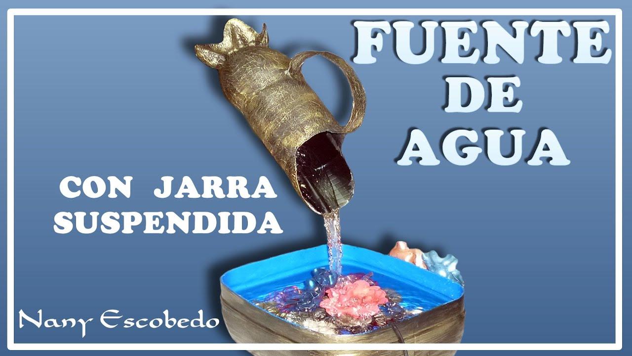 Fuente de agua con jarra suspendida feng shui youtube - Fuente de agua feng shui ...