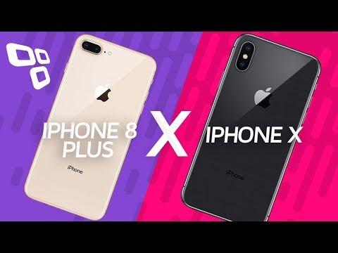 iPhone 8 Plus vs. iPhone X  - Qual vale mais a pena? - Comparativo - Tecmundo