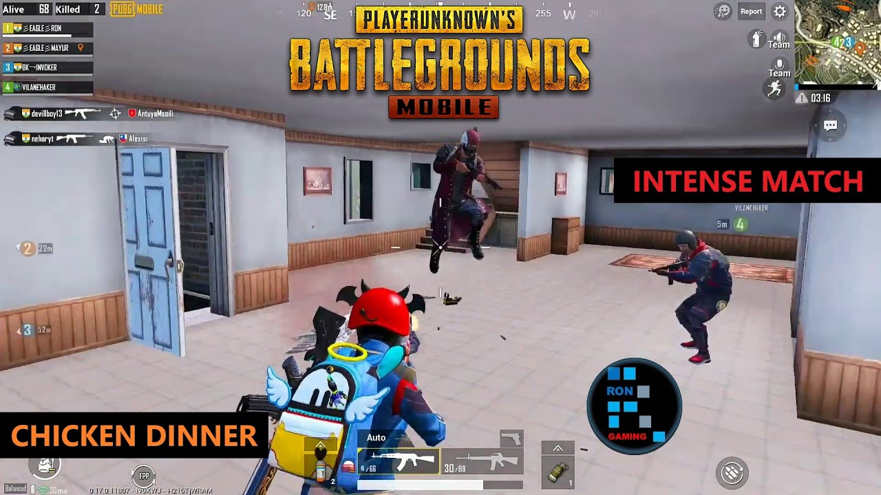 PUBG MOBILE | INTENSE FIGHT IN THE END ZONE CHICKEN DINNER