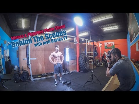 Fitness Photography With Speed Lights Gym Photo Shoot Behind The Scenes