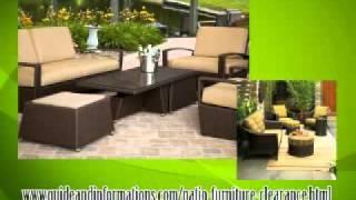 Cast aluminum patio furniture clearance