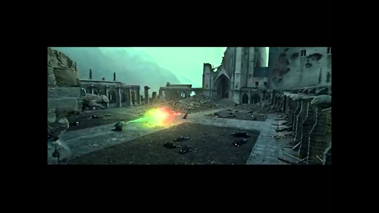 Combat Final Entre Harry Potter Et Voldemort Youtube