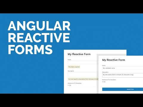 Angular Reactive Forms Tutorial (Angular 4)