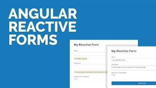 Angular Reactive Forms Tutorial (Angular 4) by DesignCourse
