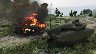 Wot Pl 01 Concept (remodel For T 100 Lt By  Raznarok ) 8373 Dmg 1299 Exp   Swamp