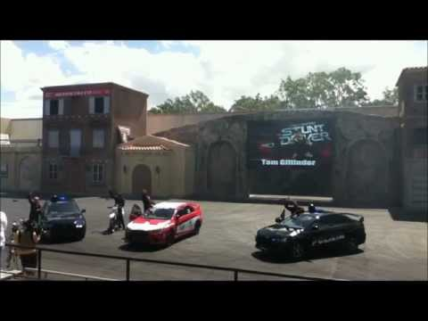 Warner Brothers Movie World - Hollywood Stunt Driver