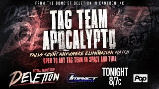[Fragmento] ARDL Florida Vice 16/12/16: Tag Team Apocalypto en el Total Nonstop Deletion