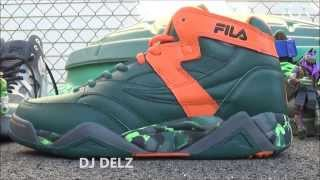 TMNT x Fila M-Squad Michelangelo Sample Shoe Review With Dj Delz Teenage Mutant Ninja Turtles