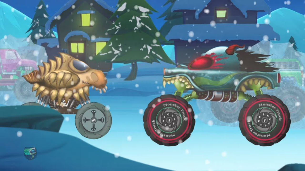 Mr Freeze | Haunted House Monster Truck | Vehicles Videos For Toddlers | Kids Cartoons