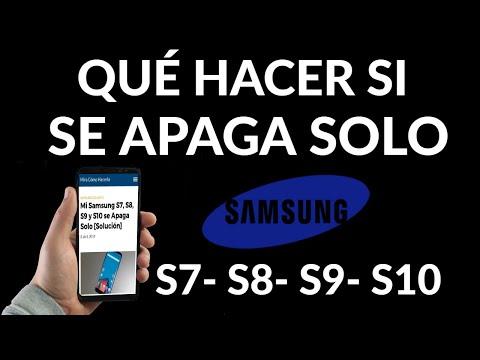 Samsung Galaxy se Apaga Solo y NO Enciende | Solución