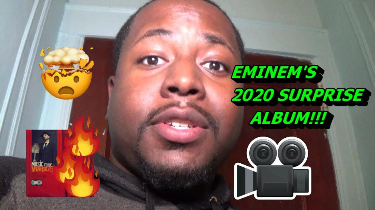 Reviewing Eminem's Music To Be Murdered By 2020 SURPRISE ALBUM!!! ??