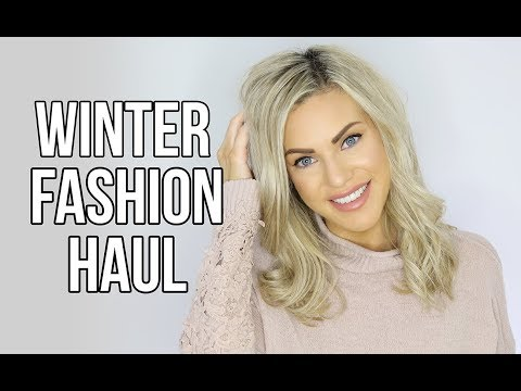 WINTER FASHION TRY ON HAUL