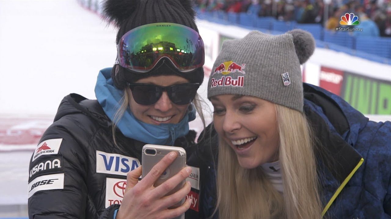Skier Lindsey Vonn goes social with hockey star P.K. Subban ...