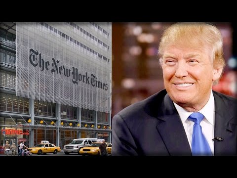 """HA HA! TRUMP TRASHES NEW YORK TIMES AFTER THEY WRITE SUBSCRIBERS """"APOLOGY"""" LETTER"""
