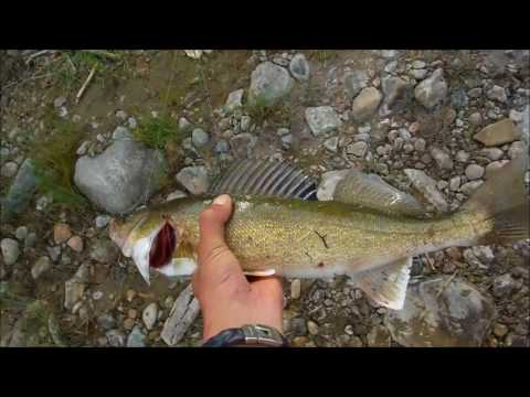 Fishing For Walleye In The Hay River