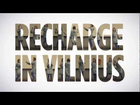 Recharge In Vilnius - Real Paper Postcard