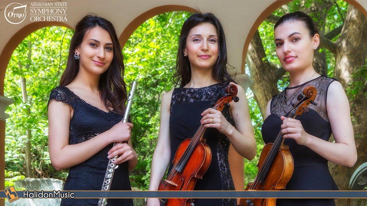 Classical Music - Violin, Viola and Flute (Otri Trio)