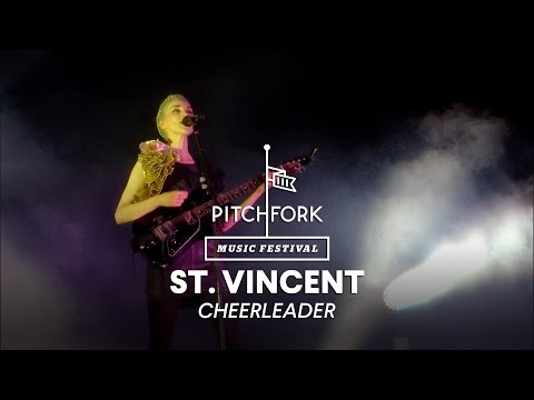 St. Vincent performs