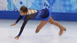 Фигуристка Юлия Липницкая упала во время выступления