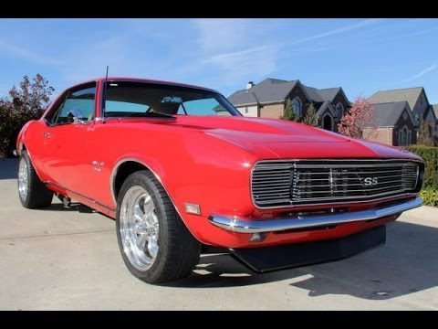 1968 chevy camaro rs ss restomod test drive classic muscle car for sale in mi vanguard motor. Black Bedroom Furniture Sets. Home Design Ideas
