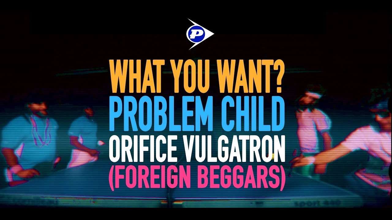 PROBLEM CHILD - What You Want? Feat. Foreign Beggars (OFFICIAL VIDEO)