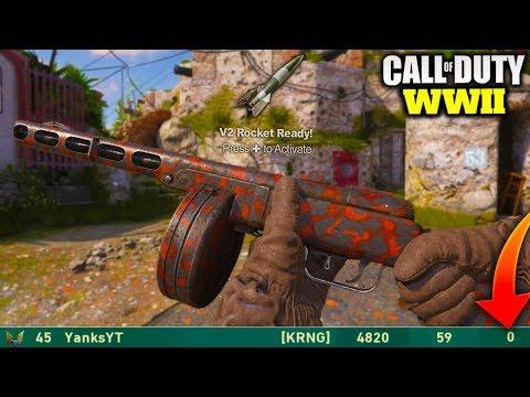INSANE FLAWLESS V2 ROCKET IN CALL OF DUTY WORLD WAR 2! [COD WW2 V2 ROCKET GAMEPLAY]