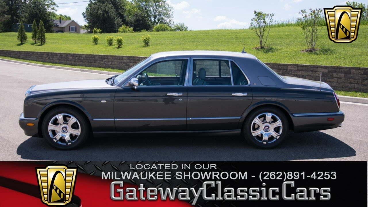 2006 bentley arnage red label 244 mwk now in our milwaukee 2006 bentley arnage red label 244 mwk now in our milwaukee showroom vanachro Choice Image