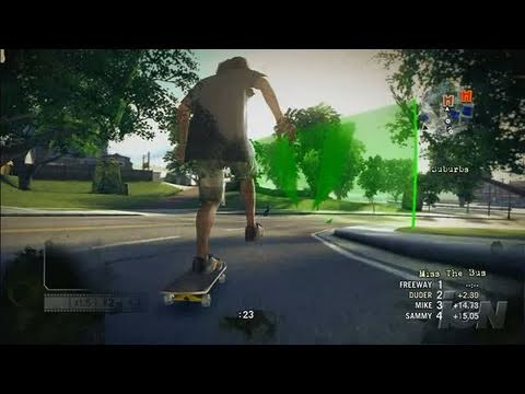 Skate Xbox 360 Gameplay - Death Race (HD)
