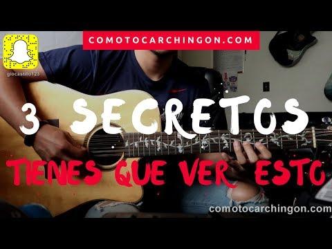 """3 Secretos"" Que Te Haran Mejor Guitarrista!!!"