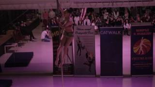 Алина Чурилова - Catwalk Dance Fest VIIl [pole dance, aerial] 16.04.17.