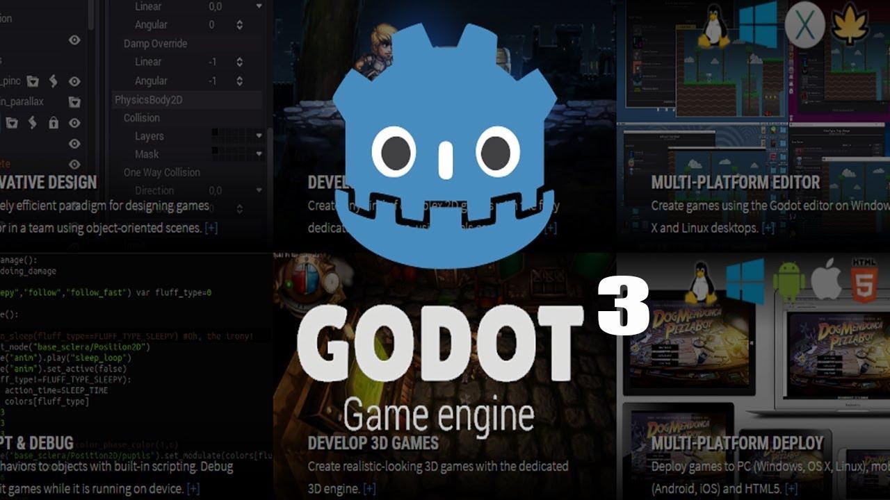 Godot 3 uma grande engine 2d e 3d youtube godot 3 uma grande engine 2d e 3d sciox Choice Image