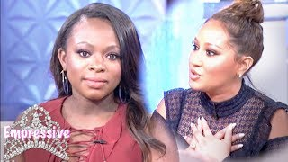 Adrienne Bailon apologizes to Naturi Naughton for 3LW Drama (TEA behind breakup)